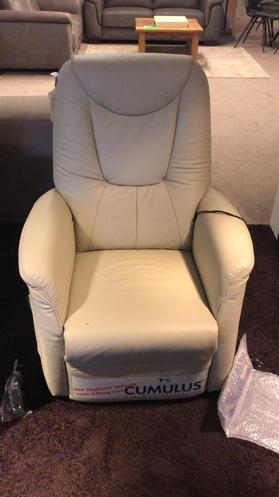 Relaxfauteuil Leder Elektrisch.Elektrische Relax Fauteuil 100 Leder A B Super Comfort Ecru