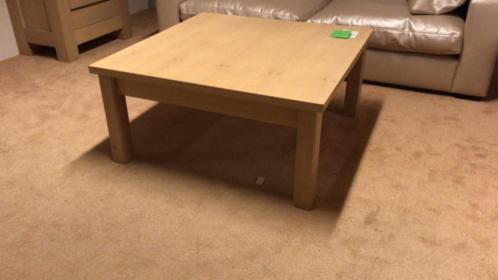 Salontafel massief eiken meubeloutlet